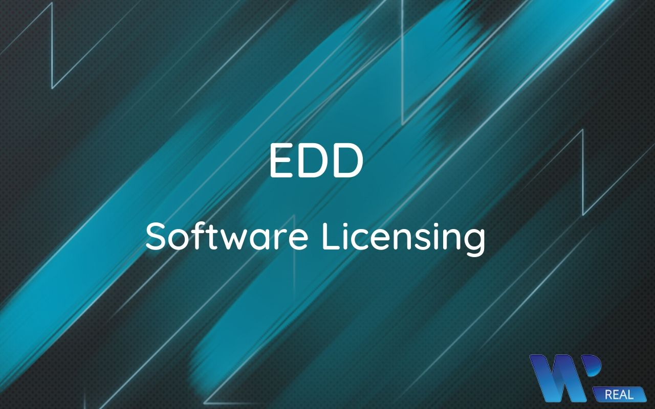 Easy Digital Downloads Software Licensin