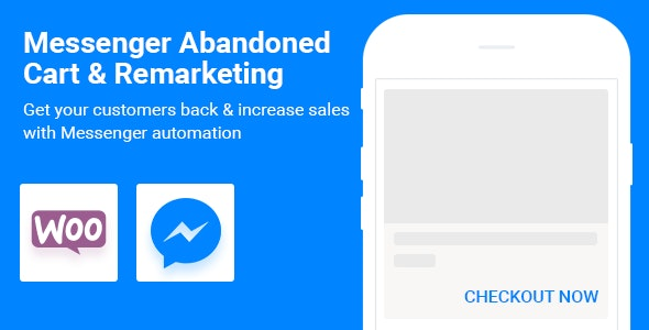 WooCommerce Abandoned Cart Remarketing in Facebook Messenger